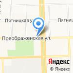 Тигренок на карте Кирова