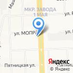 Управление социальной защиты населения в г. Кирове на карте Кирова
