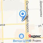 Lambre на карте Кирова