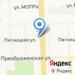 Кировский на карте Кирова