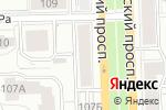 Схема проезда до компании Независимая Экспертиза и Оценка Монет в Кирове