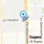 Союз Прогресс на карте Кирова