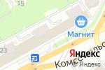 Схема проезда до компании Кристина в Кирове