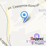 Ракита на карте Кирова