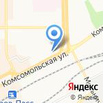 Магазин нижнего белья на карте Кирова