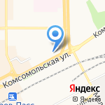 Оптик-центр на карте Кирова
