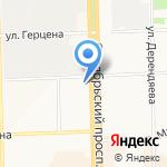 Желтый слон на карте Кирова