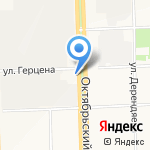 Мастерская букетов на карте Кирова