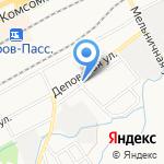Демонсер на карте Кирова