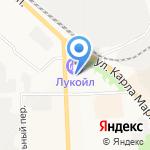 Экострой-комплекс на карте Кирова