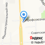 Блинная-63 на карте Кирова