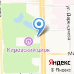 МакДоналдс на карте Кирова
