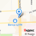 ОРХИДЕЯ на карте Кирова