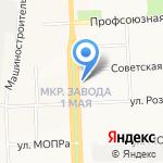 Агентство юридических услуг на карте Кирова