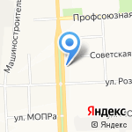 У Танка на карте Кирова
