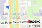 Схема проезда до компании Шансон в Кирове