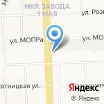 Бельетаж на карте Кирова