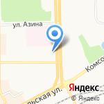 Наркологический кабинет Файкиной Анны Юрьевны на карте Кирова