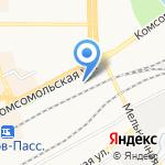 Мясобаза Дороничи на карте Кирова