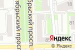 Схема проезда до компании Йола-маркет в Кирове