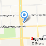 План на карте Кирова
