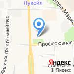 Областной дом народного творчества на карте Кирова