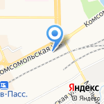 Народный крепеж на карте Кирова