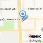 Незабудка на карте Кирова