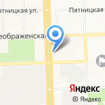 Магазин женской одежды больших размеров на карте Кирова