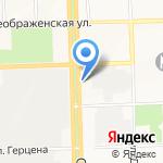 На Московской на карте Кирова