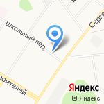 Снежана на карте Кирова