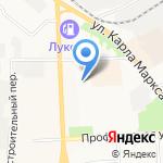 Паис на карте Кирова