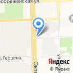 Компания по изготовлению памятников на карте Кирова