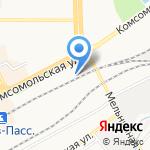 ХозСемТорг на карте Кирова