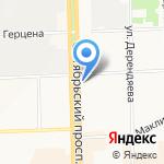 Giulia Novars на карте Кирова