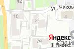 Схема проезда до компании СпортАктив в Кирове