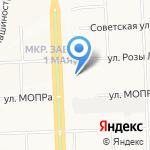 Октябрь на карте Кирова