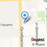 Парус на карте Кирова