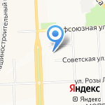 Флагранс на карте Кирова
