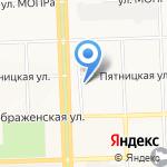 Верный друг на карте Кирова