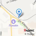 Кировский мясокомбинат на карте Кирова
