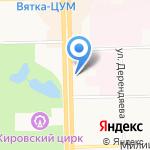 Агентство оценки на карте Кирова