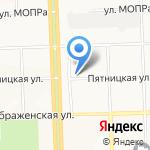 Марка Пола на карте Кирова