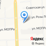 Вятское Заречье на карте Кирова