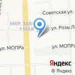 Валекс на карте Кирова