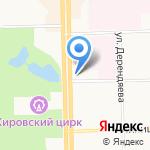 Сетелем банк на карте Кирова