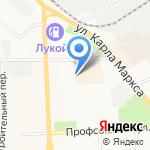 Иско на карте Кирова