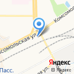 Малые мосты и трубы на карте Кирова