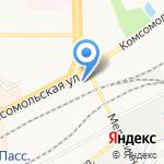 Gym-hall на карте Кирова