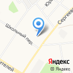 Заря на карте Кирова